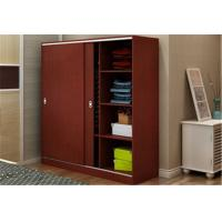 Wholesale Custom Tall Wood Storage Cabinets With Doors And Shelves , Horizontal File Storage Cupboards from china suppliers