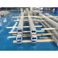 Wholesale 6063 T4 Thick Wall Aluminum Pipe Dual Tunnels High Corrosion Resistance from china suppliers
