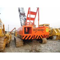 China Used HITACHI 50 Ton Crawler Crane For Sale on sale