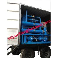 mobile and outdoor oil filtration machine mounted 4 wheels,Easily-Mobile Trailer Insulating Oil Purifier With Full Cover for sale