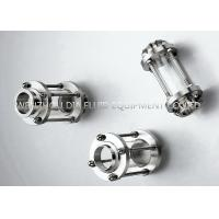 China 1 - 4 Food Grade Stainless Steel Sanitary Sight Glass SMS DIN 3A IDF RJT on sale