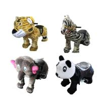 Wholesale Plastic Mini Park Animal Joy Coin Operated Horse Ride / Kids Electric Cars from china suppliers