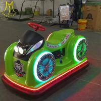 China Hansel luna park 2 seats mini bumper car for sale with battery operated on sale