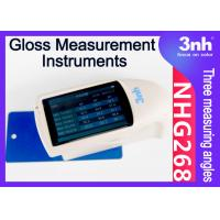 China Handheld Gloss Measurement Instruments NHG268 Multi Angle Gloss Tester for Furniture Paint Ceramic on sale