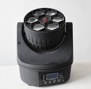 Best selling disco 6x15w 4in1 led beam bee eye 90w mini led moving head light