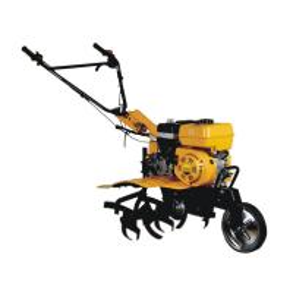 Quality Multi - Function Power Gasoline Tiller Machine OHV 4- Stroke Unleaded Gasoline Fuel Type for sale