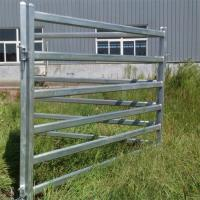 China 2.1m X 1.8m Corral Fence Panels Welded Portable Metal Livestock Panels Cattle for sale