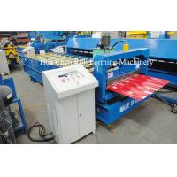 Wholesale Automatic Station Power 4kw Standard Roof Tile Roll Forming Machine With CE from china suppliers