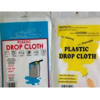 Wholesale Dust Sheet Cover, Prep-Tool, Plastic Drop Cloth from china suppliers