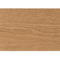 China UV Resistant Wood Grain Aluminum Composite Panel , Aluminum Wall Panels Exterior  on sale