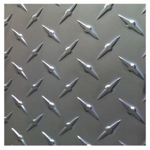 China Building Frame 3003 3A21 Diamond Pattern Aluminum Sheet on sale