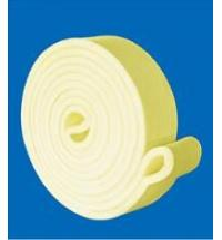 Best Custom Heat Resistance Felt 480 Degree yellow kevlar Endless transfer belts Used for Aluminum Industry wholesale