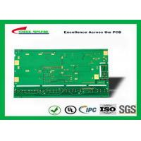 China Multilayer Printed Circuit Board FR4 1.2MM Immersion gold green solder mask on sale