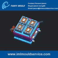 Wholesale 250g rectangular container mould ,thin wall rectangular sauce containers mould designer from china suppliers