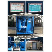 China Weather Proof Type 9000LPH Transformer Oil Purifier Machine for Onsite Transformer Oil Mainten on sale