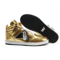 Wholesale Popular design gold high top sport walkingsupra fashion shoes for men from china suppliers