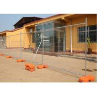 Wholesale PVC Coated Temporary Mesh Fence   Galvanized Wire Construction Site Fencing with best price from china suppliers