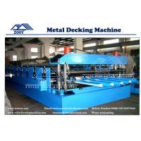 Wholesale Roof Decking Structural Steel Plate Rollformer Machine With 22KW Main Power from china suppliers