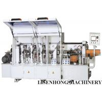 Industrial Woodworking Edge Banding Machine , Fiber Board Automatic Edge Bander
