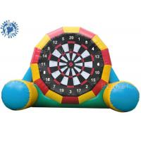 Wholesale 4.5mh Giant Inflatable Football Game / Double Sides Blow Up Soccer Dart Board from china suppliers