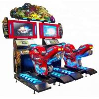 Wholesale Pop Video Motor Racing Arcade Machine For Kid ' S Playground Heavy Weight from china suppliers