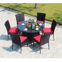 Wholesale Outdoor garden furniture Poly Rattan wicker chair Dining chair and table from china suppliers