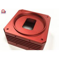 China Red Precision Machine Motorcycle Parts Easy Installation ISO 9001 Certification for sale