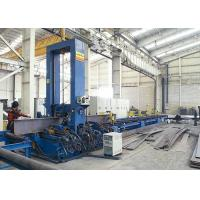 Heavy Duty H Beam Production Line 200-800mm Flange Plate Width Vertical