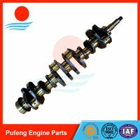 Wholesale Mitsubishi diesel engine parts 6D31 6D31T forging crankshaft ME082505 for KATO excavator HD400-5 from china suppliers