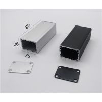 Wholesale 35*26*80mm Divided Body Small Extruded Aluminum Enclosure from china suppliers