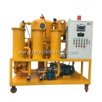 Insulation Oil oil filteration machine,double stages high vacuum transformer oil purification system, oil filter unit for sale