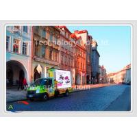Quality High Resolution Truck Mounted LED Display Mobile Led Screen Pixel Pitch 10mm P5 for sale