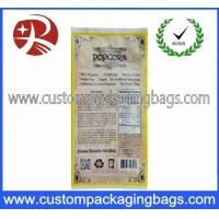 China Printing Plastic Food Laminated Packaging Bags , Popcorn Food Bag on sale