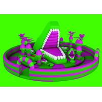 Buy cheap Anti - UV Full - Digital Printing Inflatable Fun City For Kids Playing from wholesalers