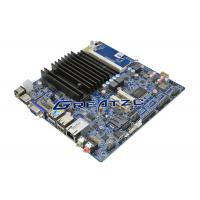Best 6 COM Fanless Motherboard , Mini Computer Quad Core Mainboard J1900 CPU wholesale