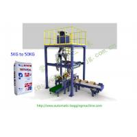 China Fast Automatic Packing Bagging Machine For Polyglycolic Acid Powder , Ammonium Sulphate for sale