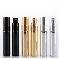 Wholesale 5ml 10ml 15ml Empty Glass Perfume Bottles , Cosmetic Spray Bottle With Aluminum Atomisers from china suppliers