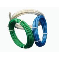 Wholesale Aircraft Vinyl Coated Steel Wire Rope UV Resistance For Fall Protection from china suppliers