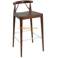 Wholesale CL-4411 luxury club bar furniture, solid wood bar chair, wooden bar stool, high bar chair from china suppliers