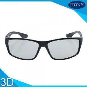 Best Stylish Passive Plastic Circular Polarized 3D Glasses For LG TV Flicker Free wholesale