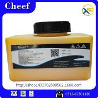 Wholesale Best selling 1200ml domino marking ink IC -261YL for inkjet printing from china suppliers
