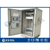 China 220VAC Integrated Outdoor Telecom Cabinet Galvanized Steel For Telecommunication for sale