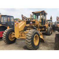 Operating Normally Used Motor Grader , Yellow Japan 140h Motor Grader Used for sale