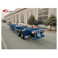 Wholesale Two Axles Terminal Trailer Q345B Material For Transport 20 Foot Container from china suppliers