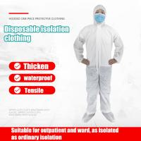 Wholesale Non Irritating Disposable Medical Gown Excellent Tensile With CE / FDA Certification from china suppliers