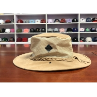 Wholesale High Quality ACE Unisex Women Men Adjustable Breathable Mesh Fabric Design Strip Bucket Fisherman Cap from china suppliers