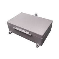 Wholesale Hinged Wall Mount IP65 Waterproof Aluminum Enclosure from china suppliers
