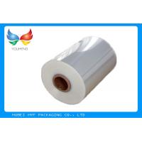 Wholesale 40mic Shrinkable Clear PVC Shrink Label Wrap Film For Wrapping And Printing Label from china suppliers