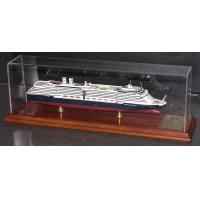 Holland America Westerdam Coast Guard Boat Models ABS Hand Carving Anchor Material for sale