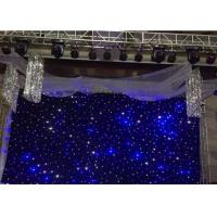 Wholesale AC90-240V LED Stage Backdrop Curtain Lights , Led Star Curtain Backdrop 120W from china suppliers